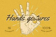 16 Hands Gestures