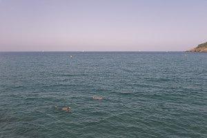 Snorkel in mediterranean