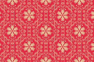 Christmas wallpaper pattern