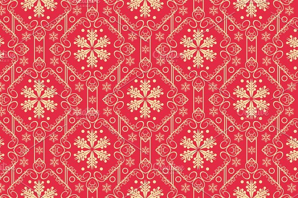 Christmas Wallpaper Pattern Graphic Patterns Creative Market Adorable Christmas Pattern Wallpaper