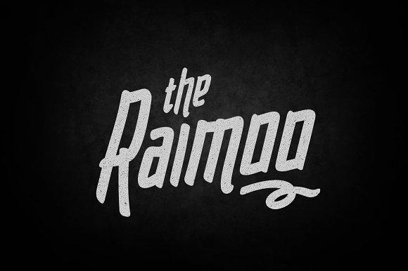 Raimoo Typeface