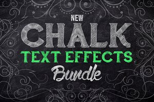 Chalk Text Effects Creator Bundle
