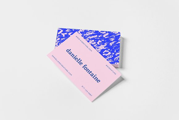 Marble Abstractions Business Card II