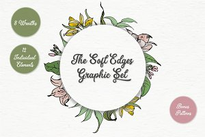 The Soft Edges Graphic Set