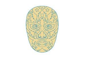 Luchador Lucha Libre Mask