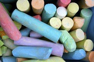 Pastel Sidewalk Chalks