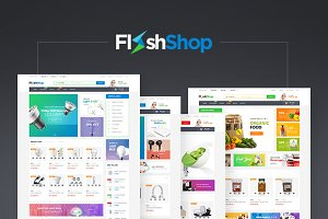 WordPress eCommerce Themes ~ Creative Market