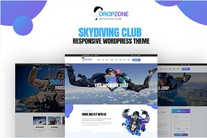 Dropzone - Skydiving WordPress Theme