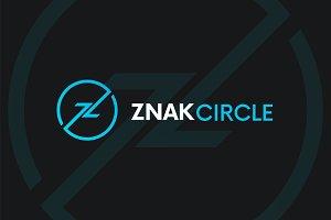ZNAK CIRCLE - Z letter company logo