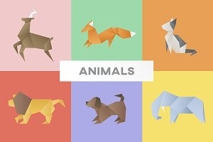 Vectors of various animals