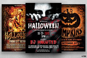 Halloween Flyer Bundle V2