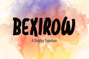 Bexirow Typeface