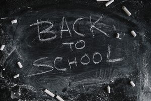 Inscription on the school board