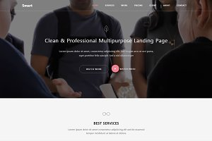 Smart - Bootstrap 4 HTML5 Template