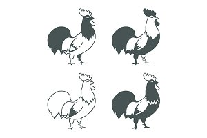 Chicken design elements