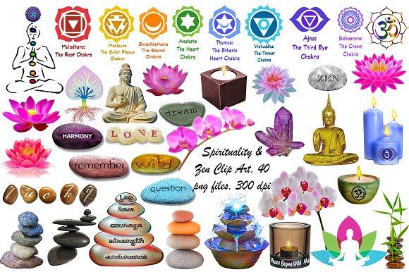 Spirituality Zen Clip Art