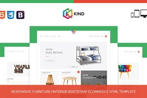 Kind - Furniture HTML Template