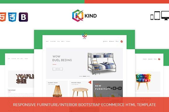 Kind Furniture HTML Template