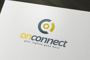 On Connect Logo Template