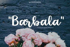 Barbala | Handwritten Font
