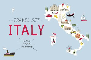 Travel set - Italy