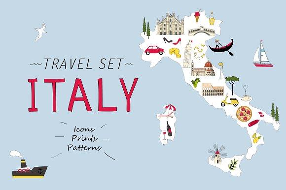 Travel Set Italy