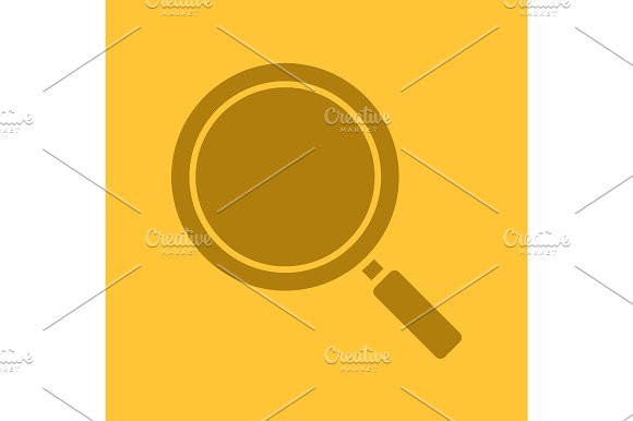 Magnifying Glass Glyph Color Icon