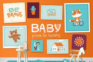Baby - prints for nursery