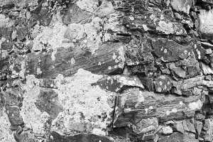 Stone Rustic Wall Detail