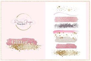 Glitter Strokes