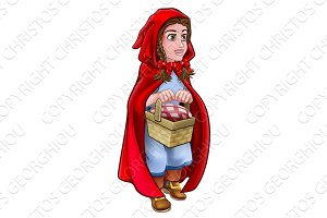 Little Red Riding Hood Fairy Tale Character
