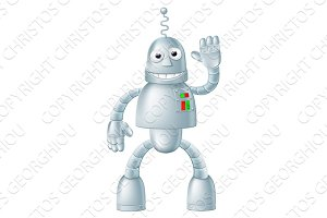 Fun Robot Charcater
