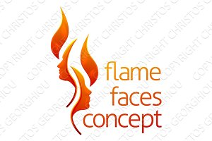 Flame Faces Concept