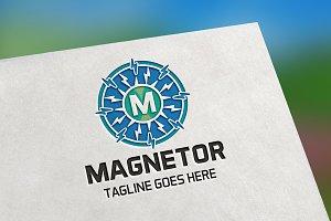 Magnetor (Letter M) Logo