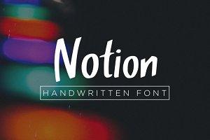 Notion Font