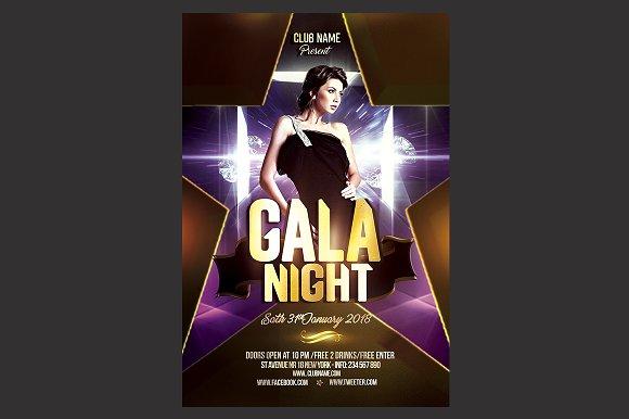 Gala Night Flyer Template