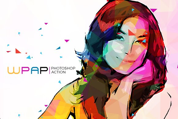 WPAP Art Photoshop Action