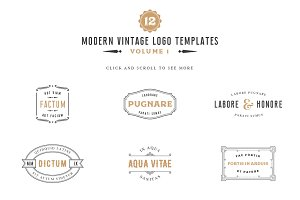Vintage Label & Logo Templates