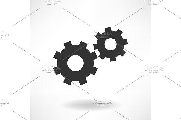 Gearwheels Simple Icon