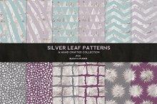 Silver Leaf Geometric Patterns No. 2