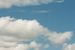 Sky and Cloud Scene Background
