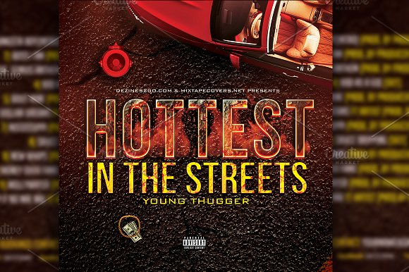 Hottest in the Streets CD Cover