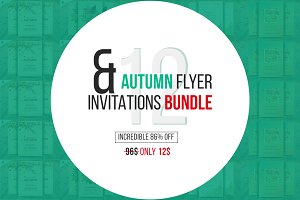 Autumn Flyer & Invitations Bundle