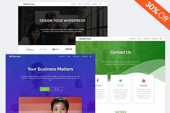 SEO Business WordPress Theme
