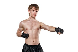 Fighter in mixed martial