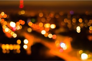 Lights of the city