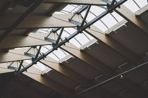 roof. Industrial style.
