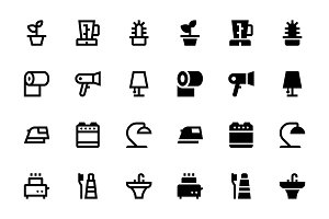50 Home icons