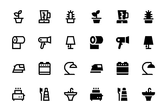 25 Home Icons