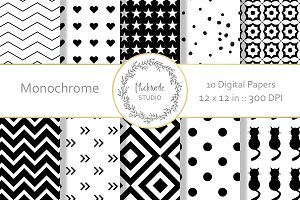Monochrome digital paper